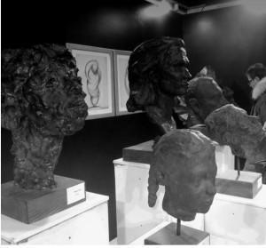 Portraits, A. Di Tommaso sculptor.
