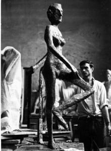 3.Antonio Di Tommaso nel 1964 all'Accademia di Belli Arti di Firenze