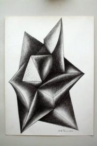 Studio per scultura, 1995