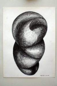 Studio per scultura, 1994