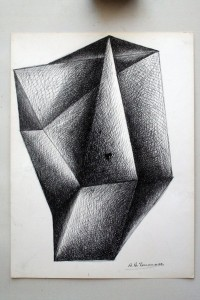 Studio per scultura, 1977